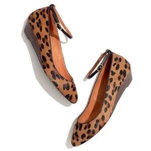 Madewell1937 footwear animal-print calf hair Shoes